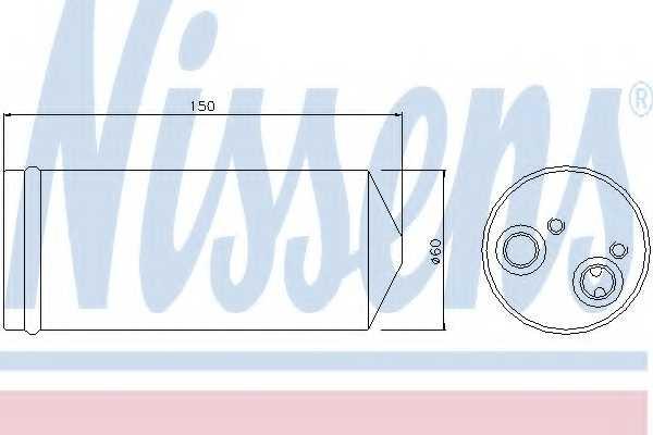 Осушитель кондиционера NISSENS 95139 - изображение