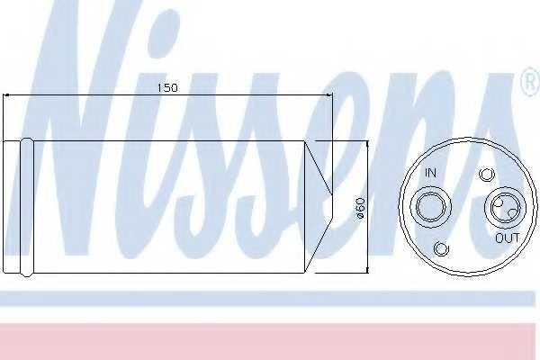 Осушитель кондиционера NISSENS 95142 - изображение
