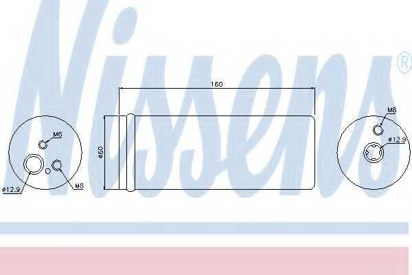 Осушитель кондиционера NISSENS 95171 - изображение