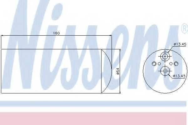 Осушитель кондиционера NISSENS 95172 - изображение