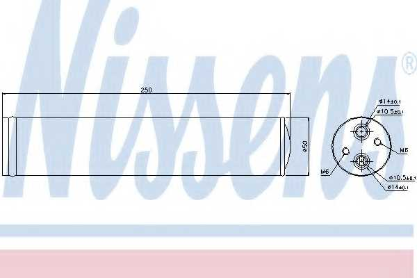 Осушитель кондиционера NISSENS 95241 - изображение