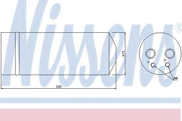 Осушитель кондиционера NISSENS 95314 - изображение
