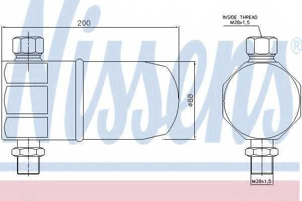 Осушитель кондиционера NISSENS 95324 - изображение