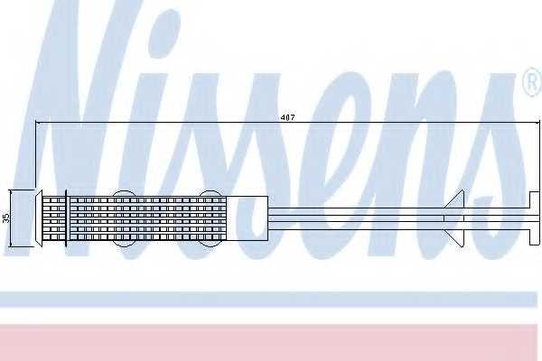 Осушитель кондиционера NISSENS 95327 - изображение