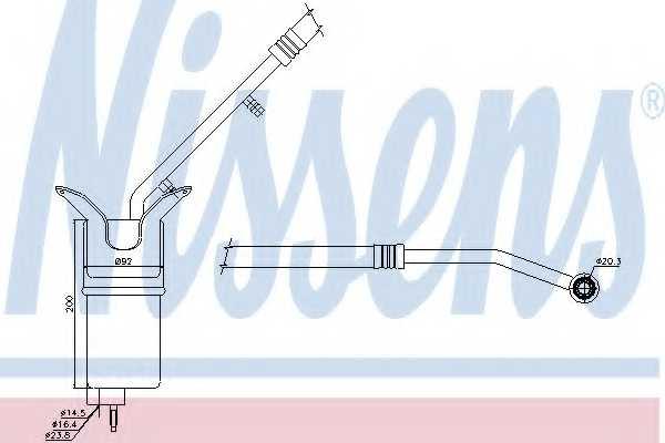 Осушитель кондиционера NISSENS 95330 - изображение