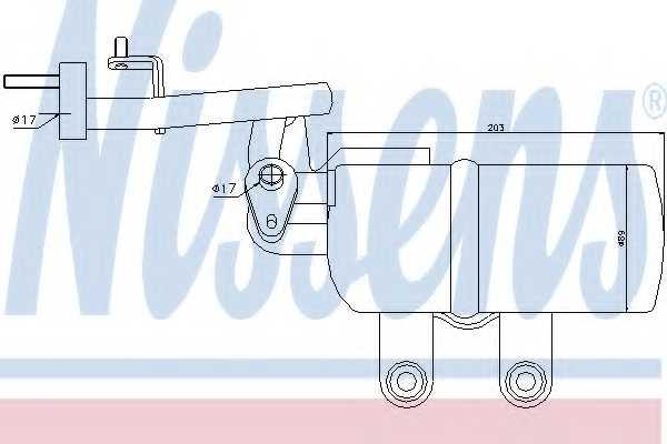 Осушитель кондиционера NISSENS 95332 - изображение