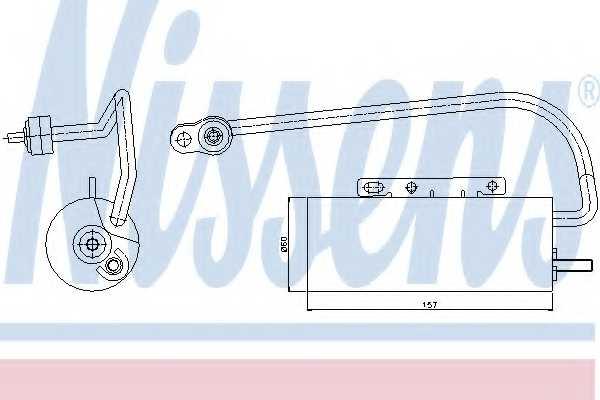 Осушитель кондиционера NISSENS 95339 - изображение
