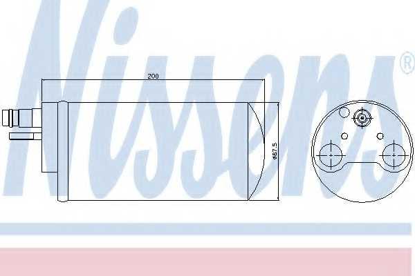 Осушитель кондиционера NISSENS 95341 - изображение