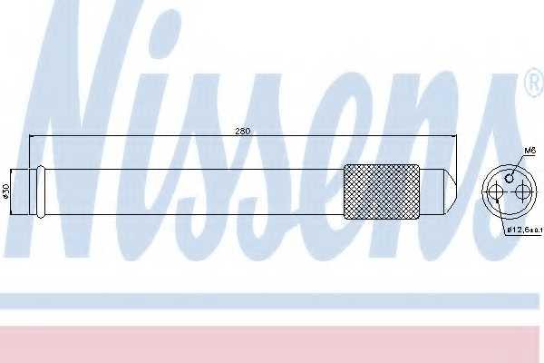 Осушитель кондиционера NISSENS 95360 - изображение