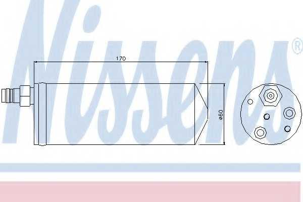 Осушитель кондиционера NISSENS 95363 - изображение