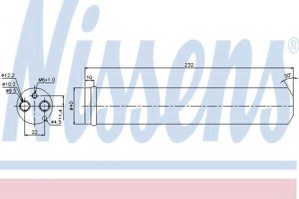 Осушитель кондиционера NISSENS 95452 - изображение