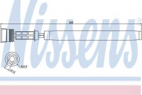 Осушитель кондиционера NISSENS 95458 - изображение
