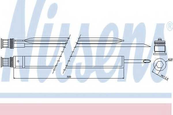 Осушитель кондиционера NISSENS 95465 - изображение