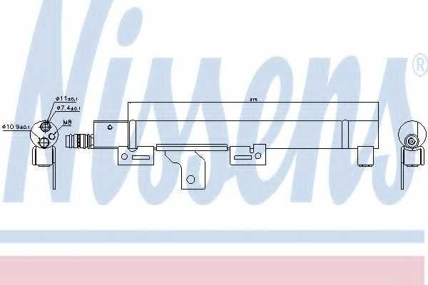 Осушитель кондиционера NISSENS 95492 - изображение