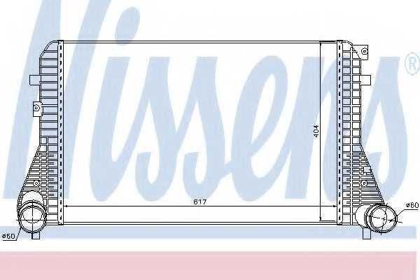 Интеркулер NISSENS 96575 - изображение
