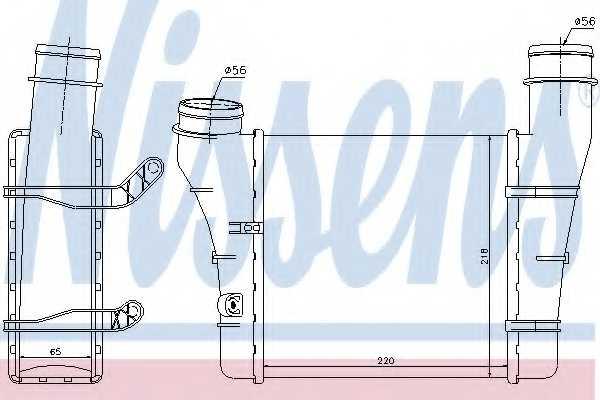 Интеркулер NISSENS 96707 - изображение