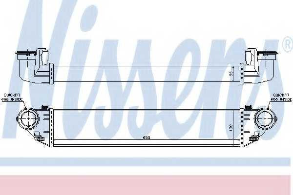 Интеркулер NISSENS 96714 - изображение