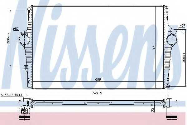 Интеркулер NISSENS 969001 - изображение