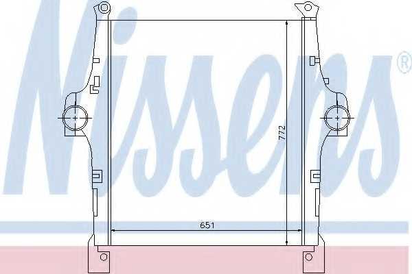 Интеркулер NISSENS 97047 - изображение