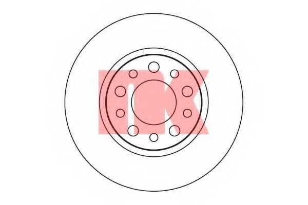 Тормозной диск NK 201024 - изображение
