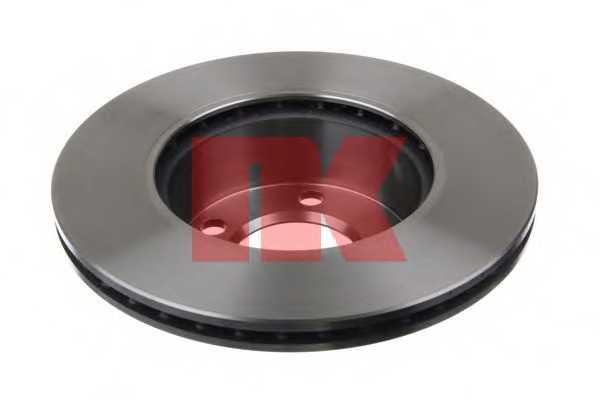 Тормозной диск NK 2015100 - изображение 1