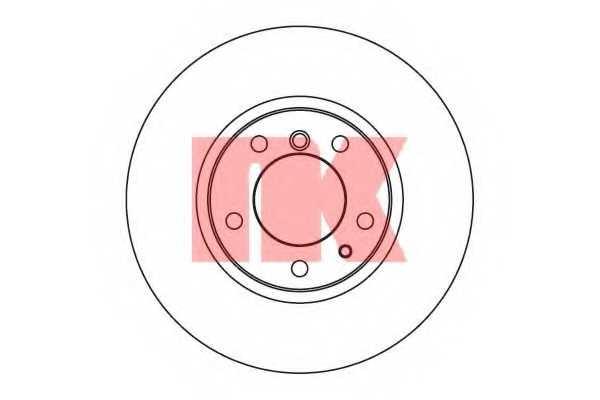 Тормозной диск NK 201518 - изображение