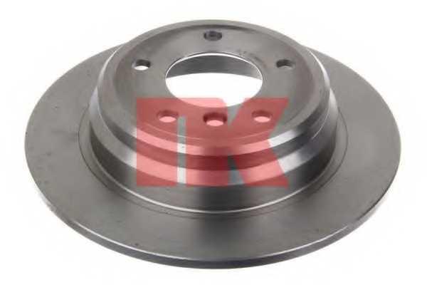 Тормозной диск NK 201537 - изображение 1