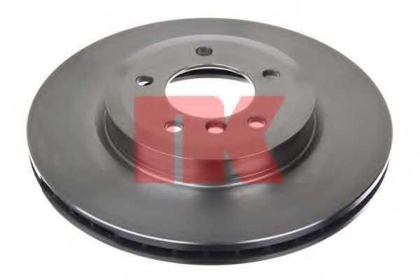 Тормозной диск NK 201543 - изображение