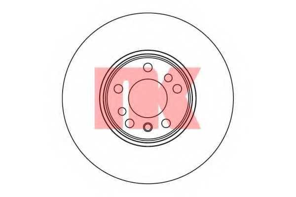 Тормозной диск NK 201547 - изображение