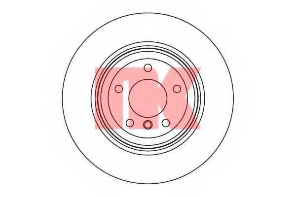 Тормозной диск NK 201569 - изображение