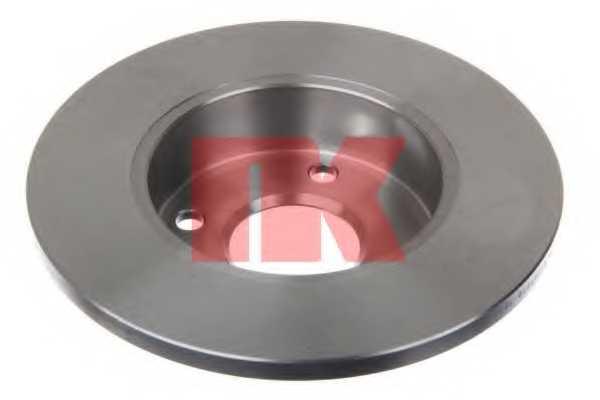 Тормозной диск NK 202237 - изображение