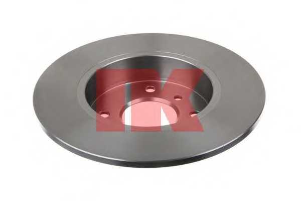 Тормозной диск NK 202252 - изображение