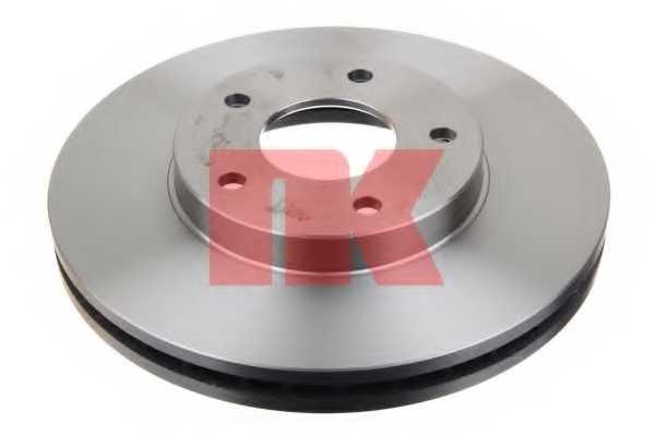 Тормозной диск NK 202256 - изображение 1