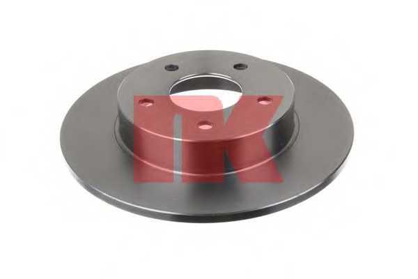 Тормозной диск NK 202257 - изображение 1