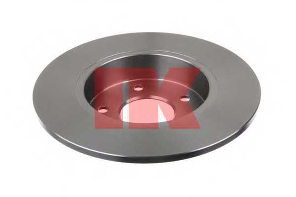 Тормозной диск NK 202257 - изображение