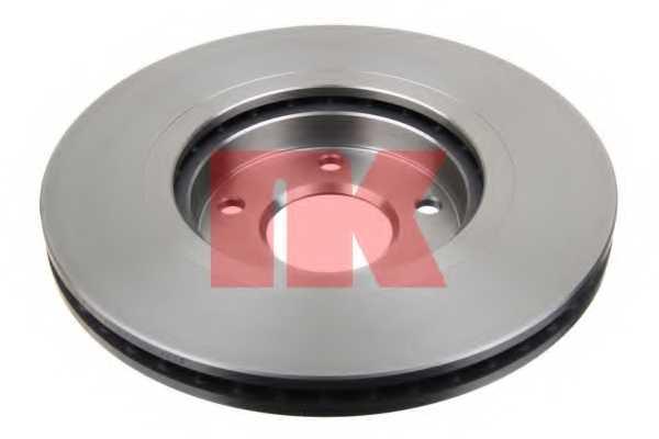 Тормозной диск NK 202272 - изображение 1