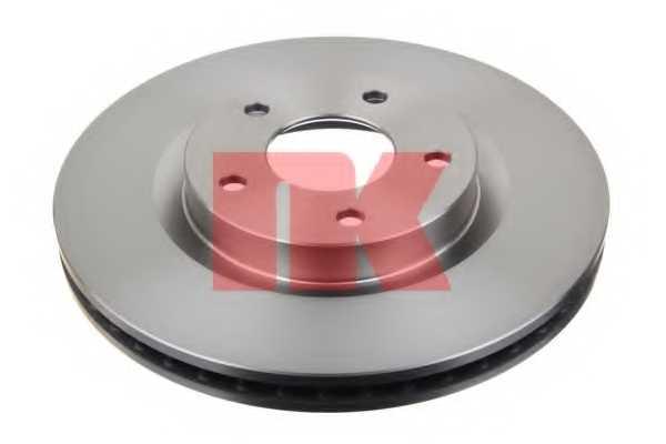 Тормозной диск NK 202272 - изображение
