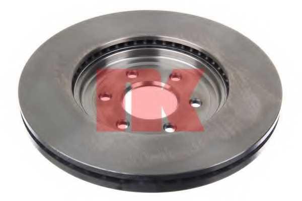 Тормозной диск NK 202276 - изображение 1