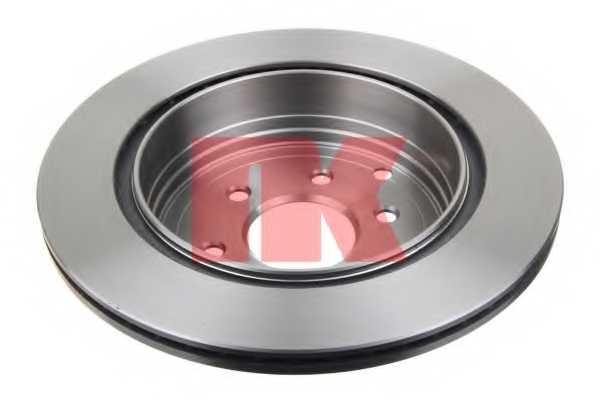 Тормозной диск NK 202281 - изображение 1