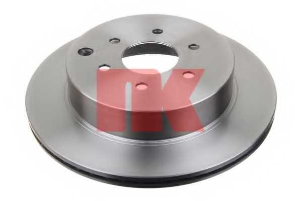 Тормозной диск NK 202281 - изображение