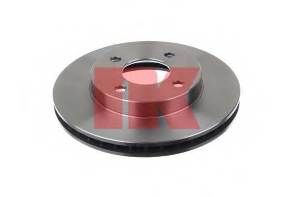 Тормозной диск NK 202282 - изображение 1