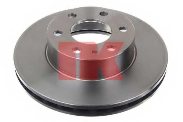 Тормозной диск NK 202356 - изображение