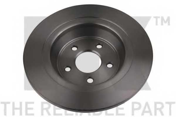 Тормозной диск NK 2025101 - изображение 2