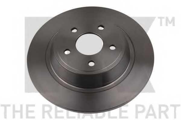 Тормозной диск NK 2025101 - изображение