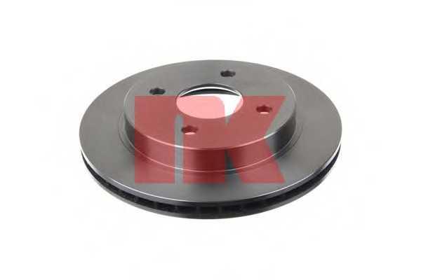 Тормозной диск NK 202535 - изображение 1