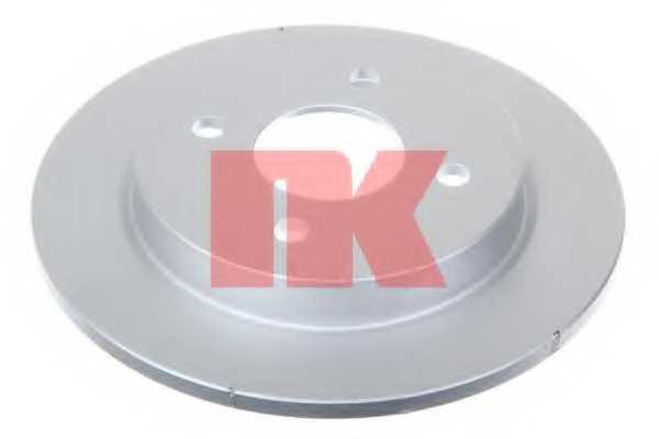 Тормозной диск NK 202536 - изображение 1