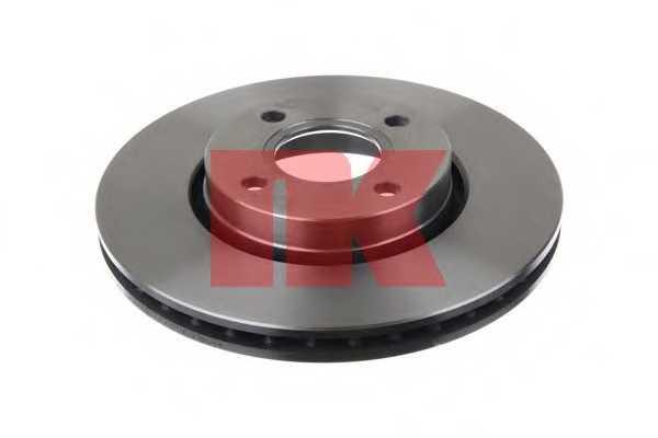 Тормозной диск NK 202542 - изображение