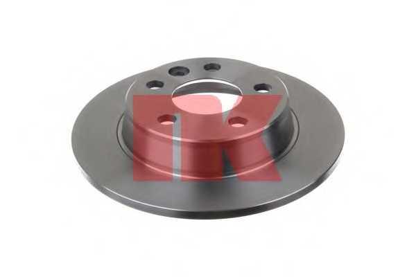 Тормозной диск NK 202546 - изображение 1