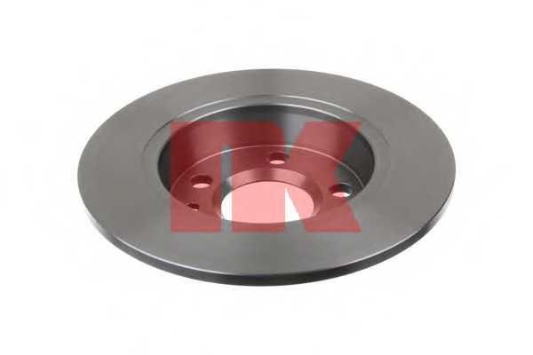 Тормозной диск NK 202546 - изображение