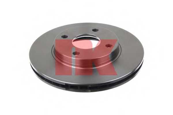 Тормозной диск NK 202549 - изображение 1